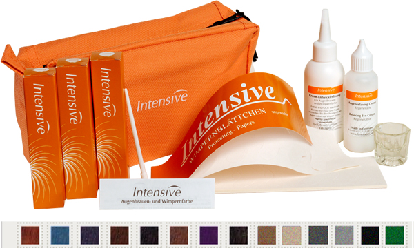 Intensive Eyelash and Eyebrow Tint System - The range