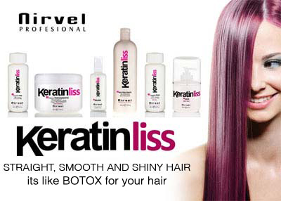 Keratinliss Hair Straightening and Smoothening Treatment