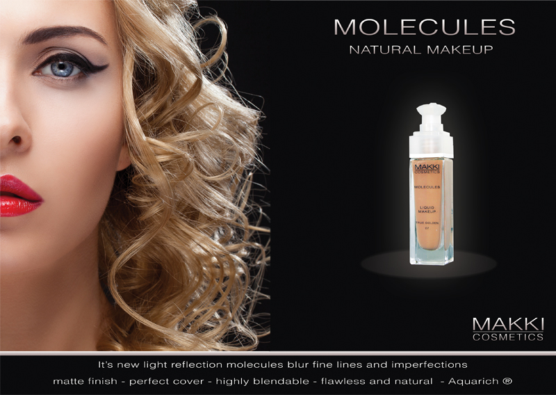 Molecules Liquid Make Up from Makki Cosmetics