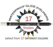 Waterproof eyeliners