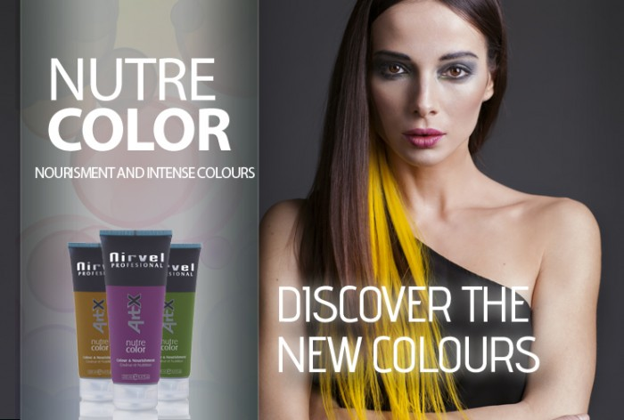 product nutre hair color and nourishment from nirvel - Color Out Nirvel
