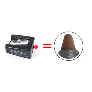 MAKKI Professional ROUND-TIP Cosmetic Sharpener