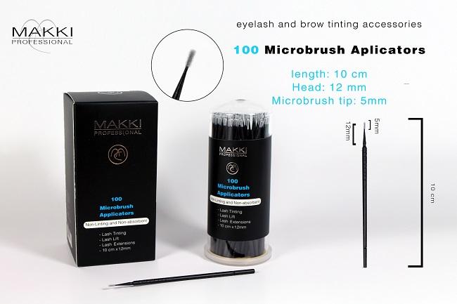 100 Microbrush applicators