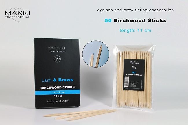 50 Birchwood sticks