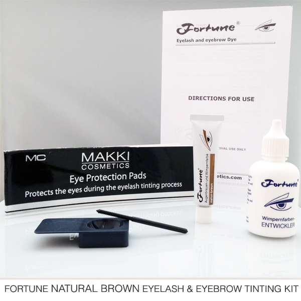 Fortune Natural Brown Eyelash and Brow Tinting Kit