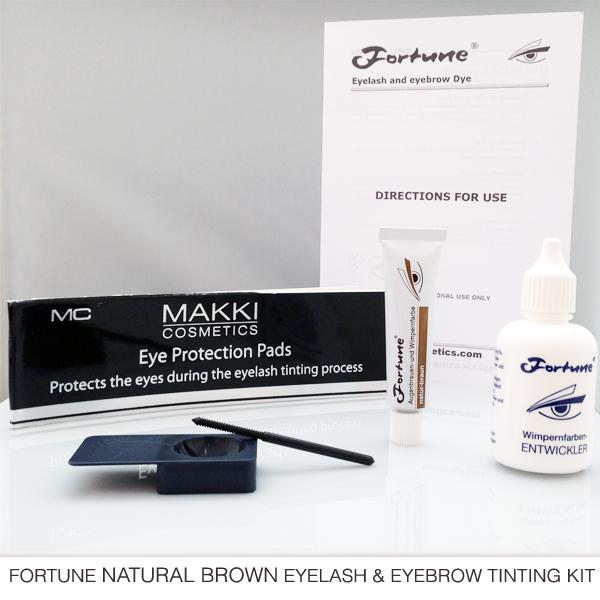 Fortune Natural Brown Eyelash and Brow Tinting Kit