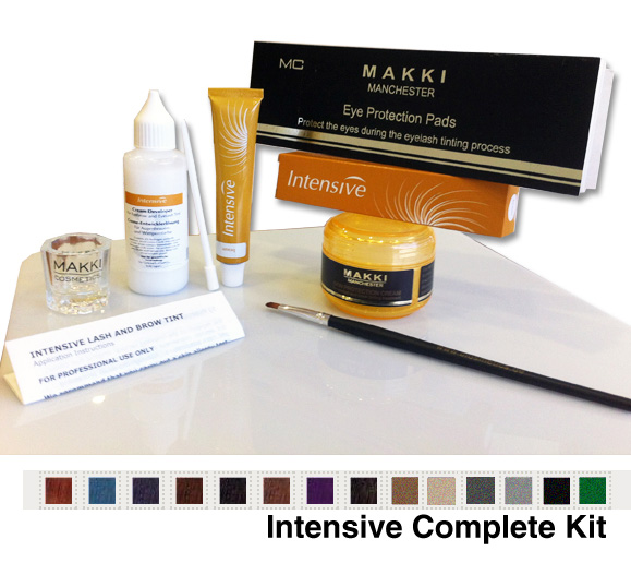 Eyelash and Eyebrow Complete Tinting Kit