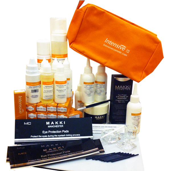 Intensive & MAKKI Eyelash and Brow Tinting Kit