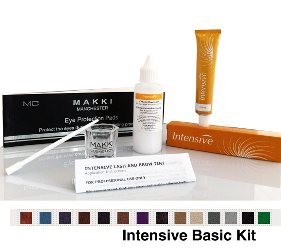 Eyelash and Eyebrow Basic Tinting Kit