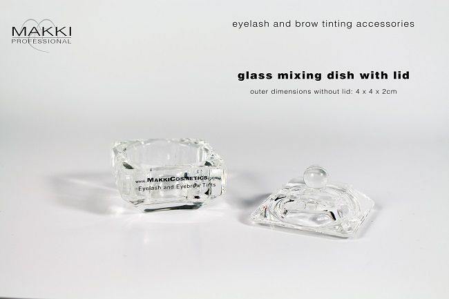 Makki Glass Mixing Dish with Lid