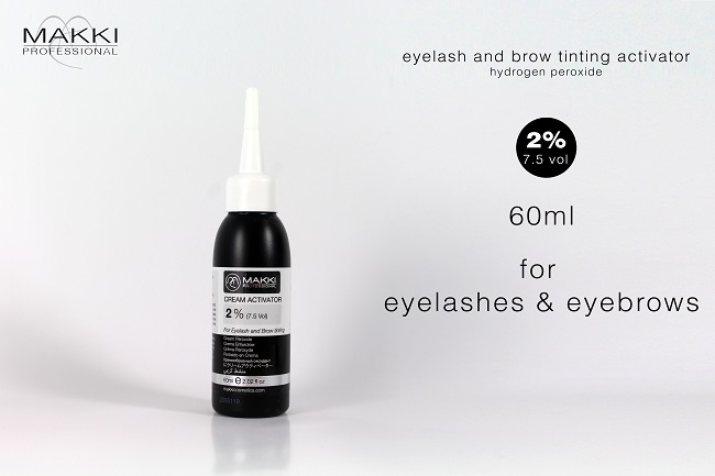 Tint Activator 2 % 60ml for Eyelashes and Eyebrows