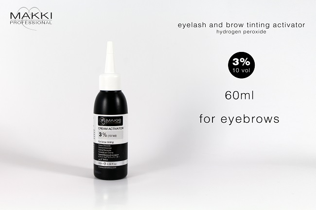 Tint Activator 3 % 60ml for Eyebrows