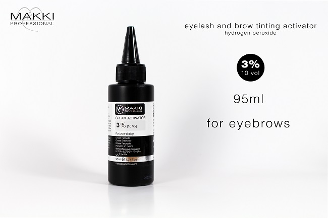 Tint Activator 3 % 95ml for Eyebrows