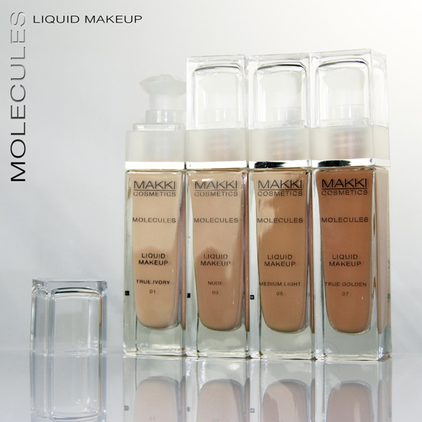 Molecules Liquid Make Up