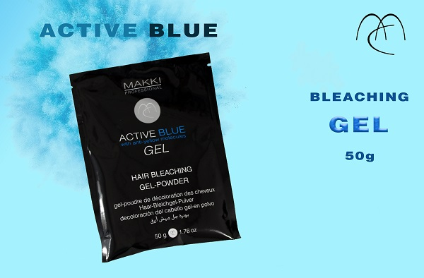 Active Blue Bleach GEL