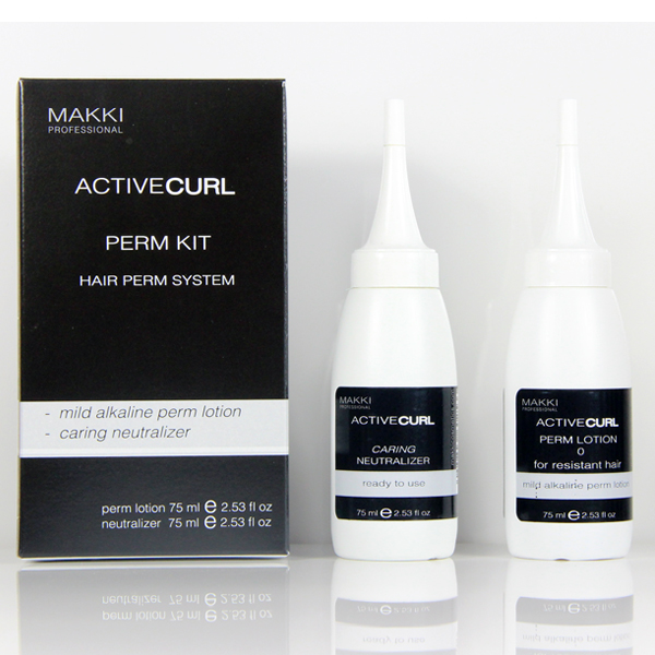 Active Curl 0: Hair Perm System: Resistant Hair