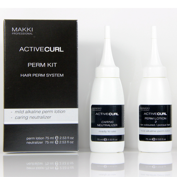 Active Curl 2: Hair Perm System: Coloured Hair
