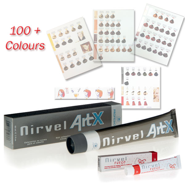 art x hair colour cream tint - Color Out Nirvel