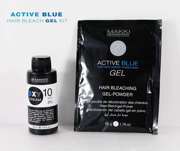 Blue Gel Bleach Kit 10