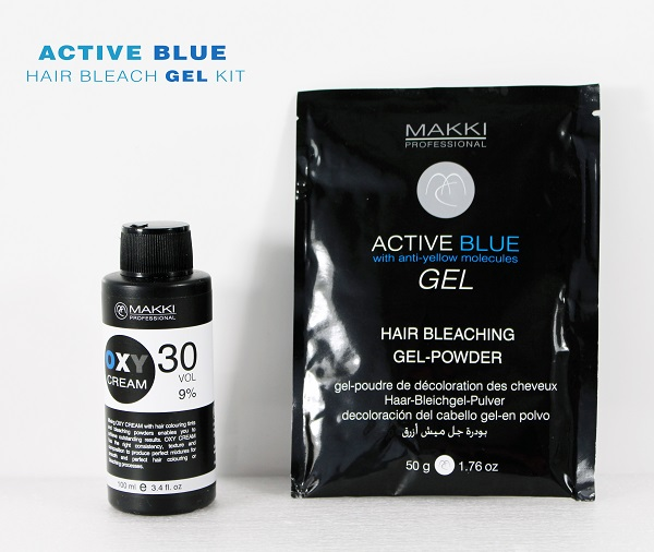 Blue Gel Bleach Kit 30