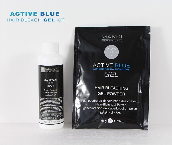 Blue Gel Bleach Kit 40
