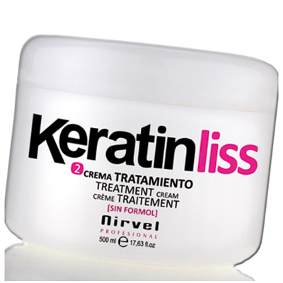 Hair Straightening and Smoothening Keratin Cream