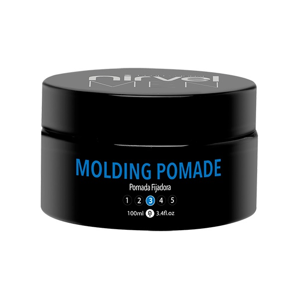Medium hold hair styling pomade
