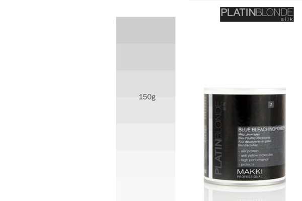 Platin Blonde Blue Hair Bleach Powder