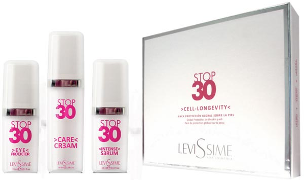 Stop 30 Kit: Care Cream, Intensive Serum and Eye Protector
