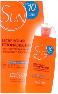 Sun Protection Milk for Body SPF 10