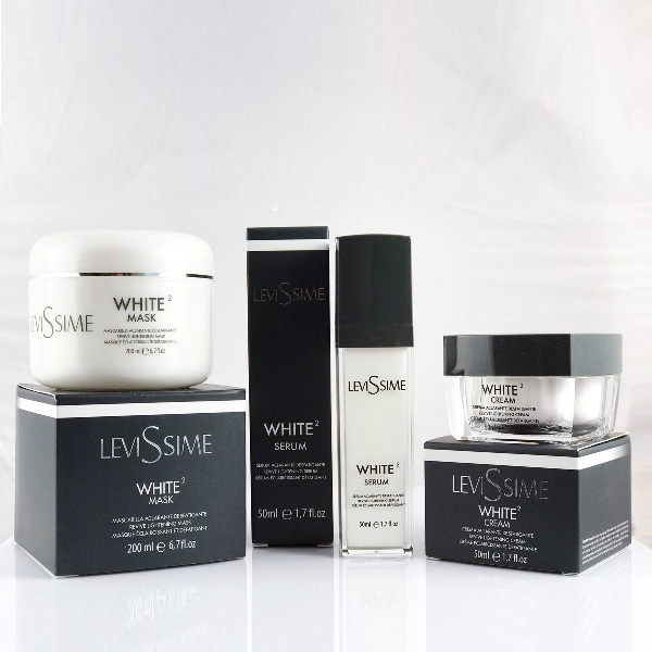 White 2 Cream, serum and mask