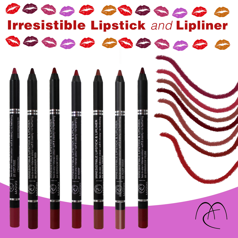 Irresistible Lipstick Lipliner