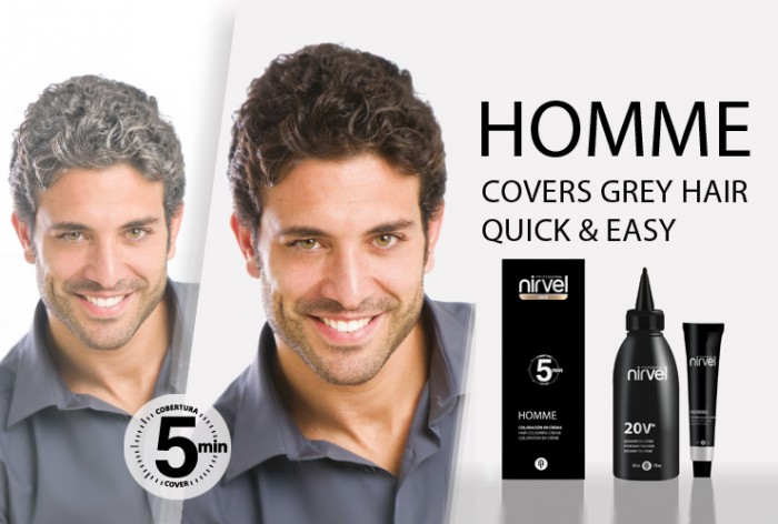 Men Hair Colour Cover Grey Hair