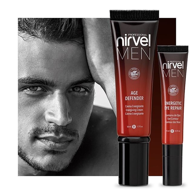 Men Face and Eye Anti Ageing